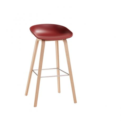 HAY About A Stool 32 steenrode barkruk