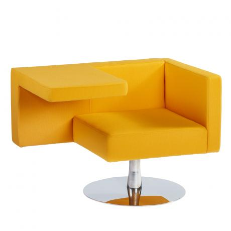 Offecct Solitaire fauteuil geel