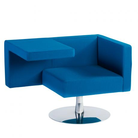 Offecct Solitaire fauteuil blauw
